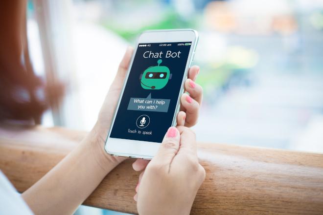 chatbot mobile smartphone customer