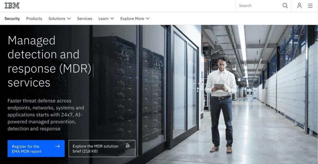 IBM Security MDR Services
