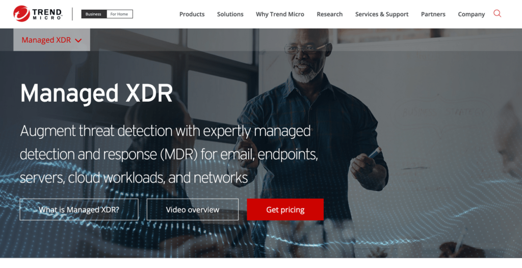 Trend Micro Mnaged XDR