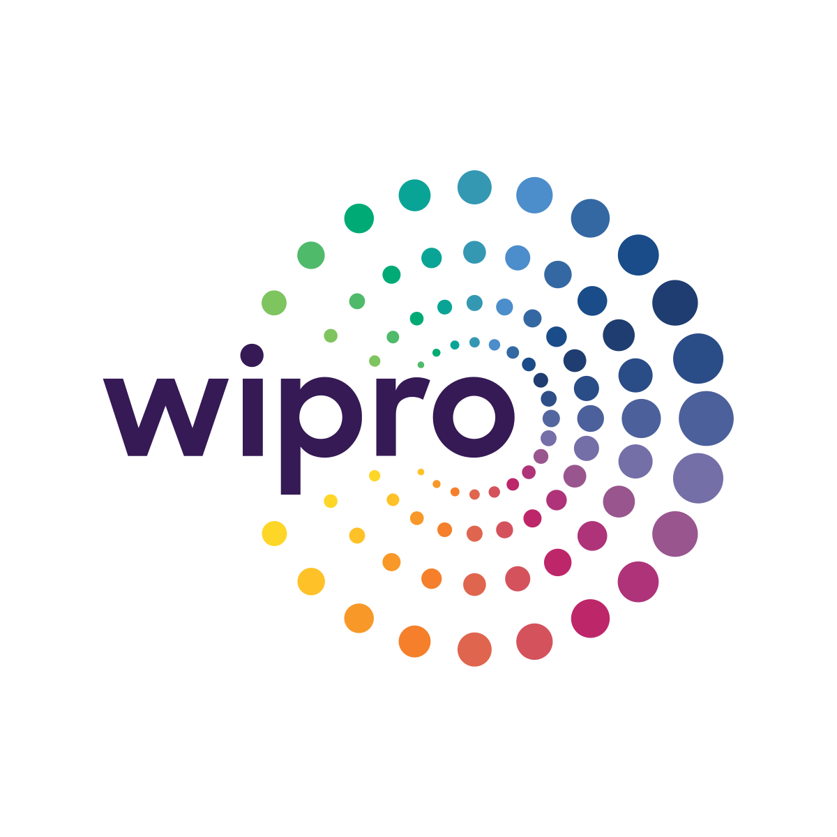 The logo for Wipro